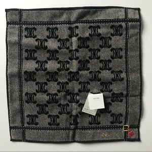 Celine x Kawabe monogram wash cloth NWT